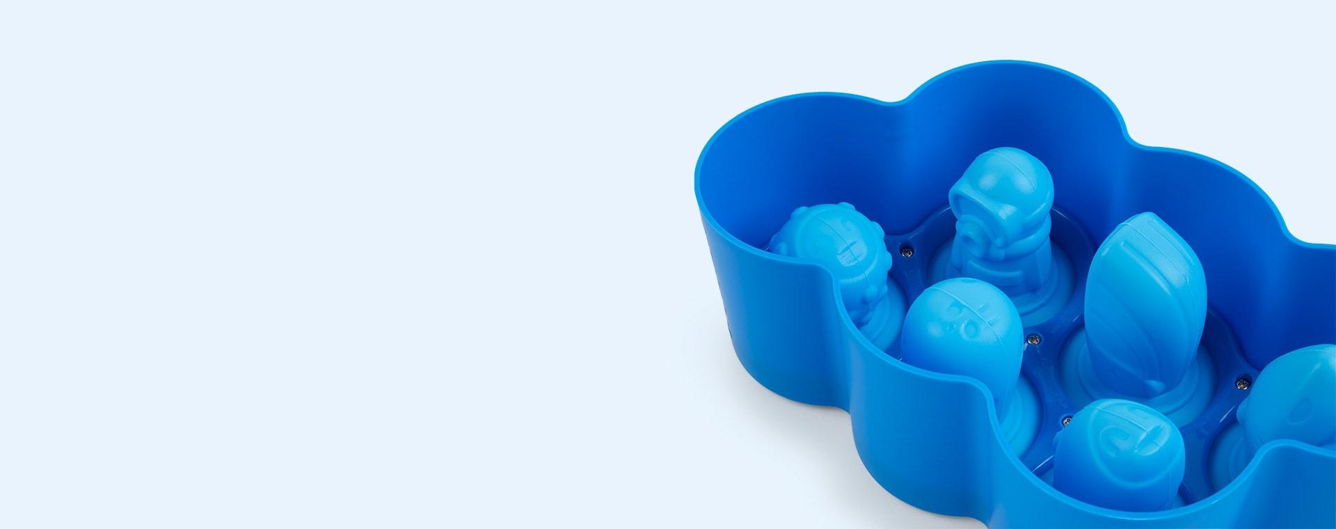 Blue Zoku Fish Pop Moulds