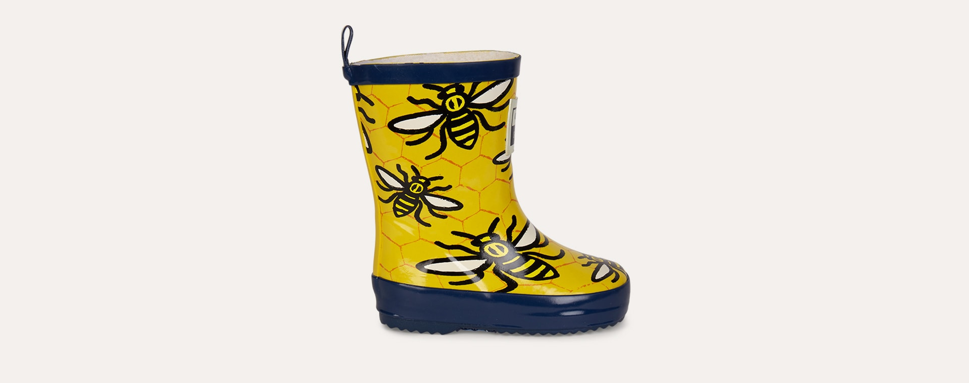 Yellow Grass & Air Bee Wellies