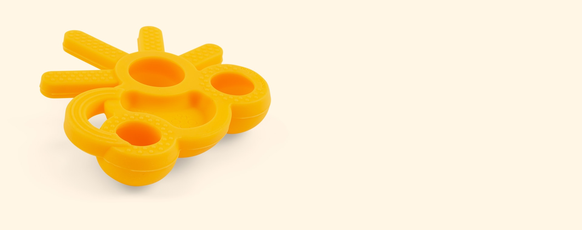 Yellow doddle & co The Chew Teether
