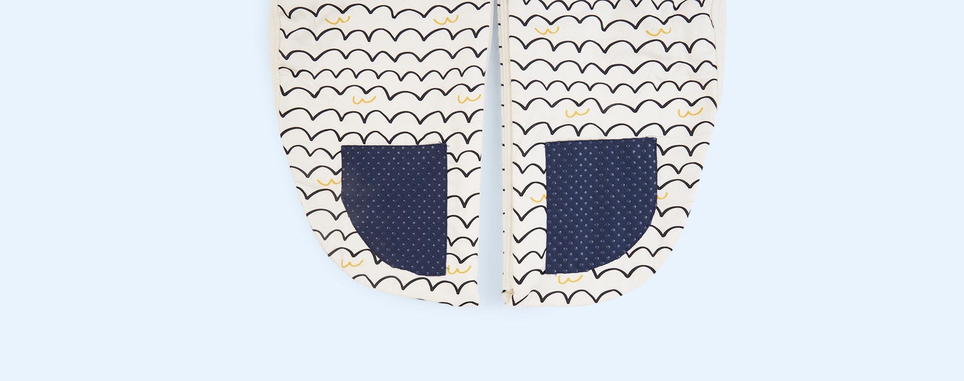 Waves Ergopouch Sleepsuit Bag - 1 Tog