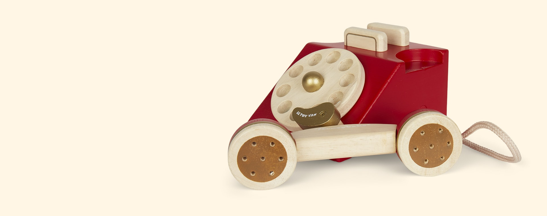 Red Le Toy Van Vintage Phone