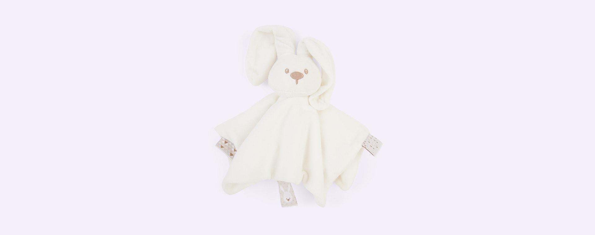 Off White Nattou Doudou Cuddle Teddy