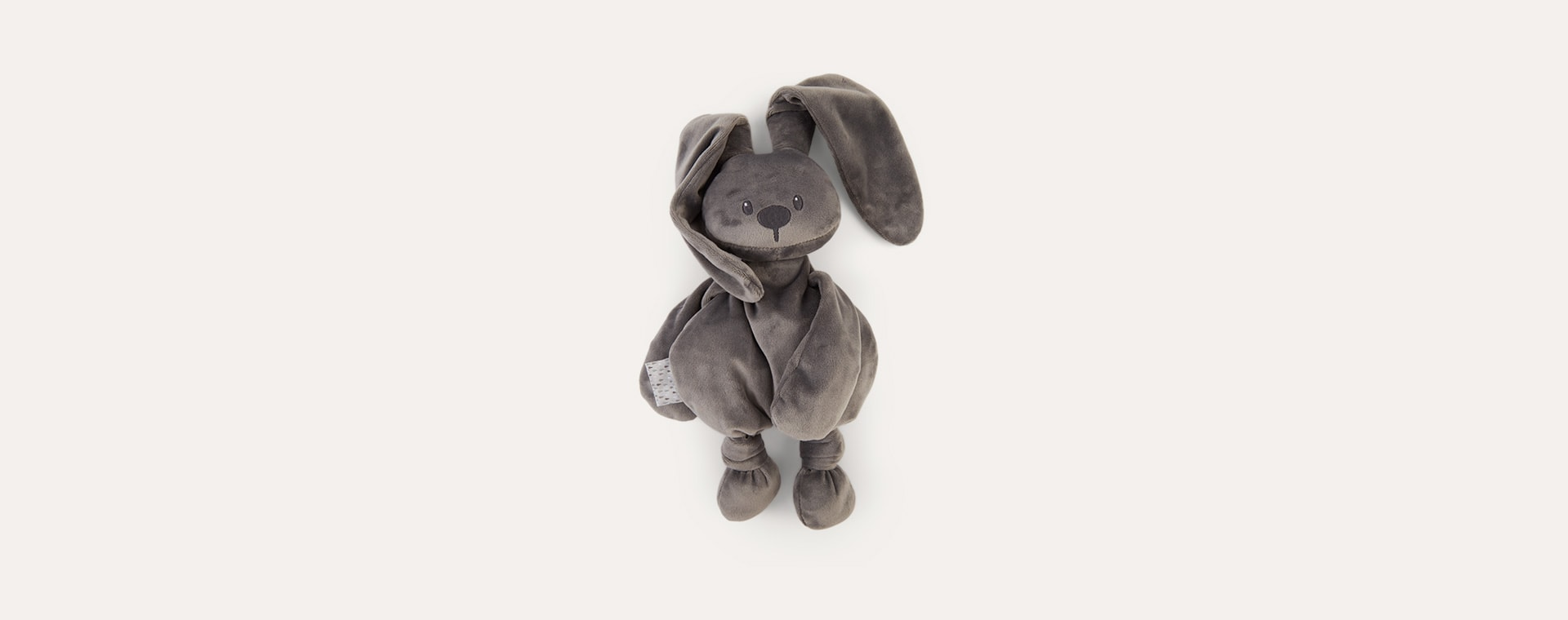Anthracite Nattou Lapidou Cuddle Teddy