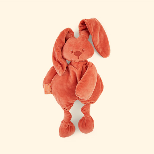 Terracotta Nattou Lapidou Cuddle Teddy