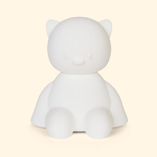 Cat Nattou Silicone Nightlight