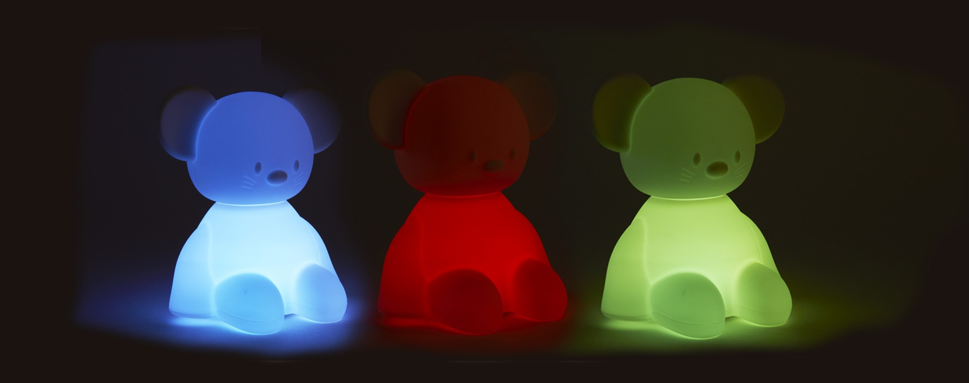 Mouse Nattou Voice Activated Colour Changing Nightlight