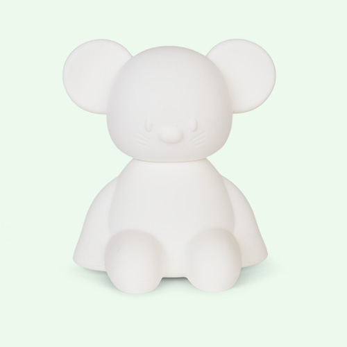 Mouse Nattou Silicone Nightlight