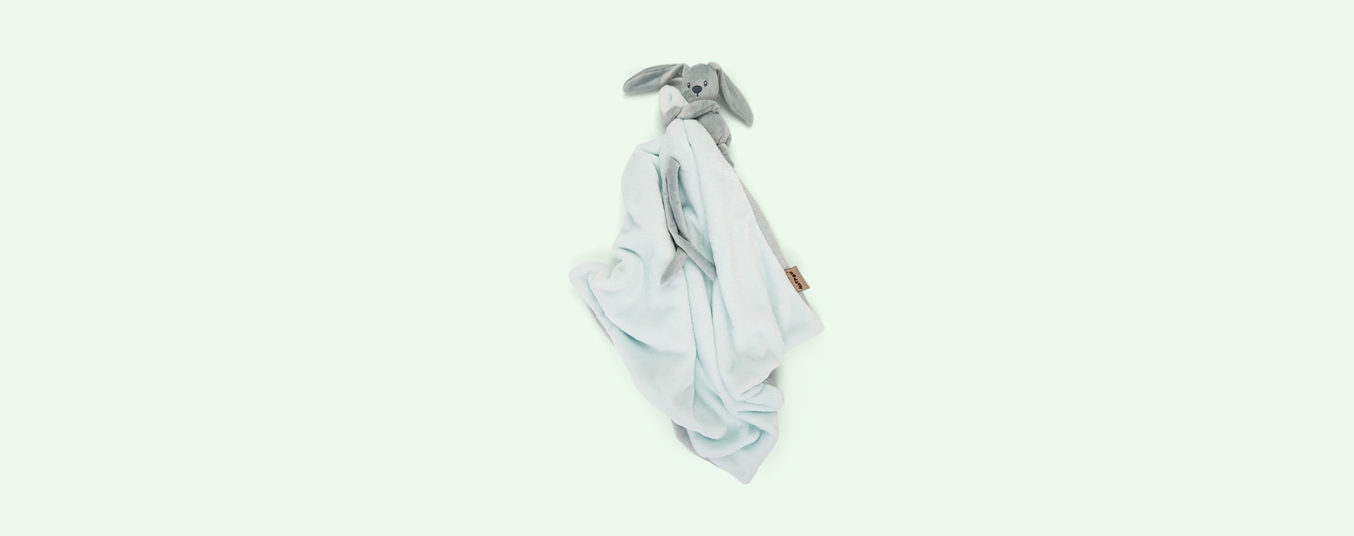 Copper Green Mint Nattou Doudou Blanket