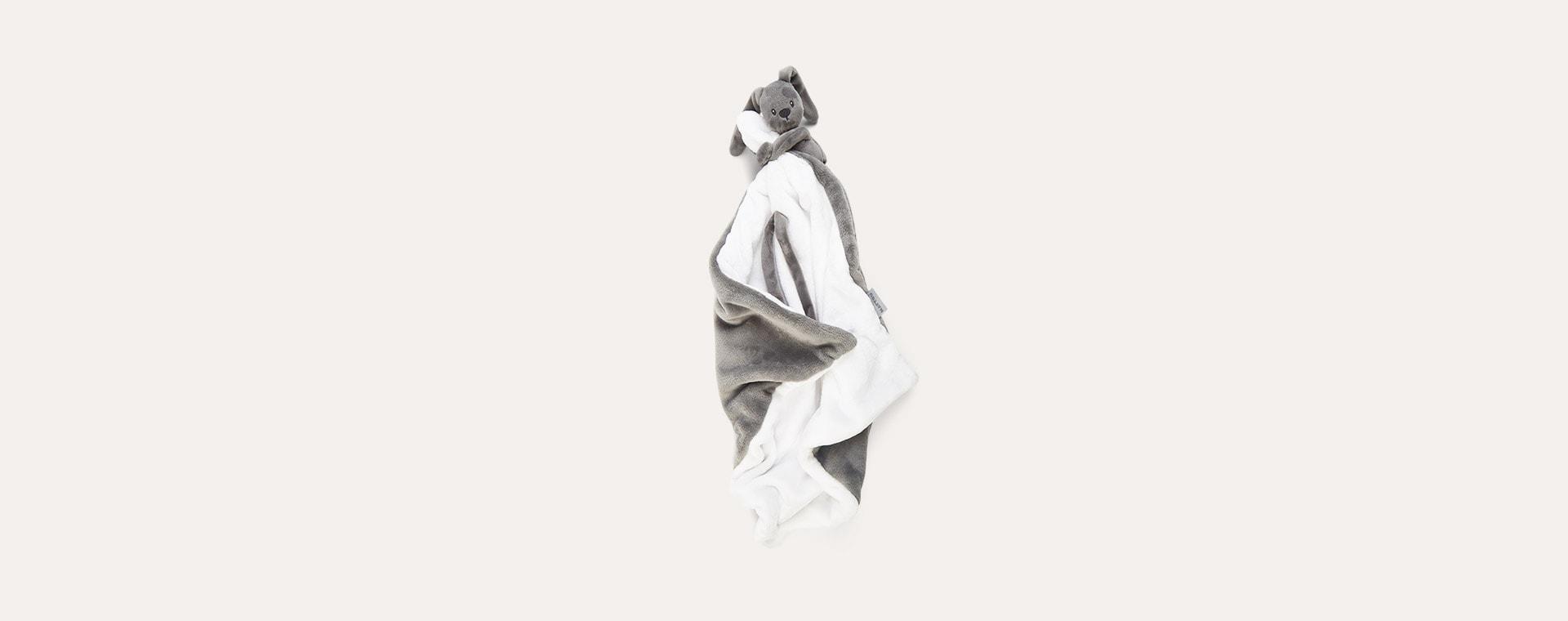 Anthracite Nattou Doudou Blanket