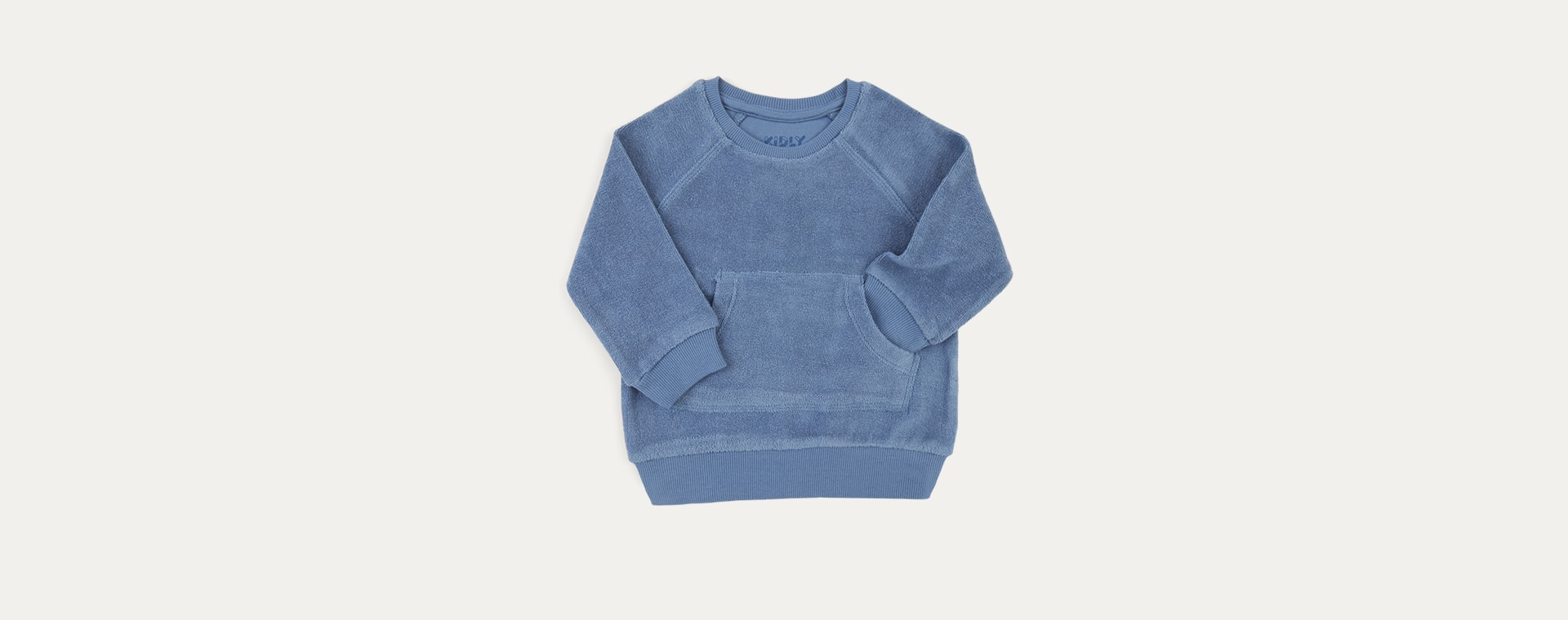 Sky KIDLY Label Towelling Sweatshirt