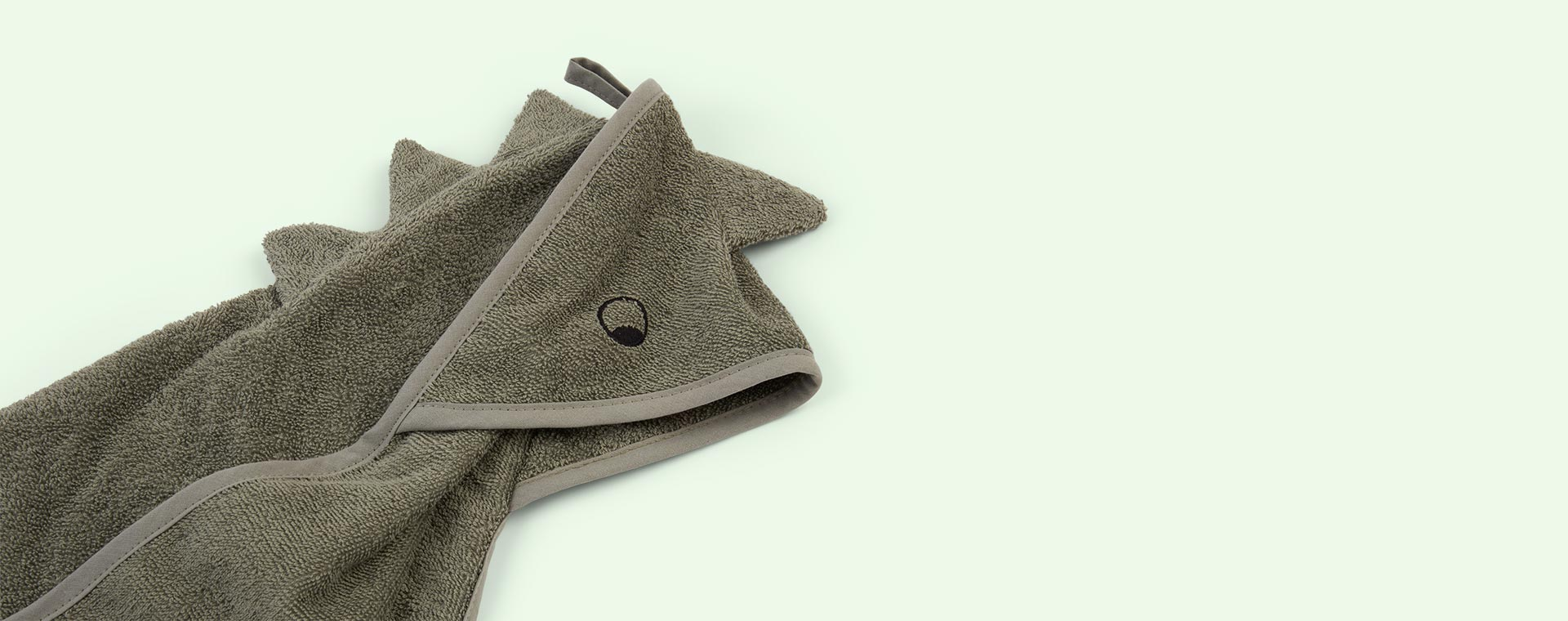 Dino Faune Green Liewood Albert Hooded Towel