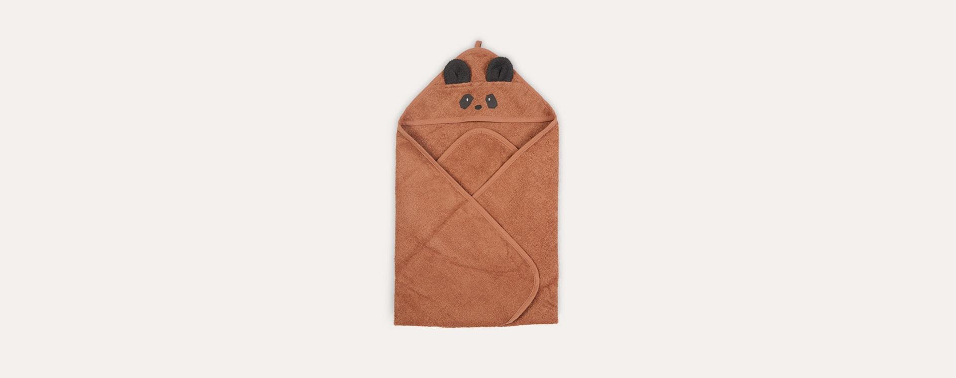 Panda/Tuscany Rose Liewood Albert Hooded Towel