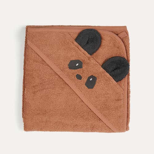 Panda/Tuscany Rose Liewood Albert Hooded Towel