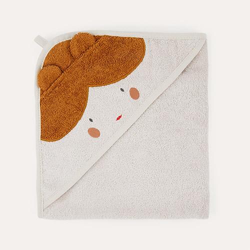 Doll/Sandy Mix Liewood Albert Hooded Towel