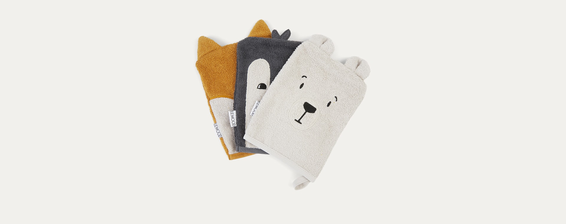 Arctic Mix Liewood Sylvester Washcloth 3 Pack