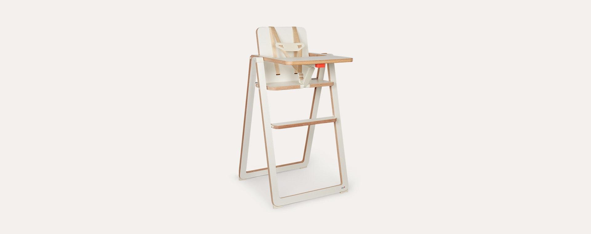 White SUPAflat Highchair