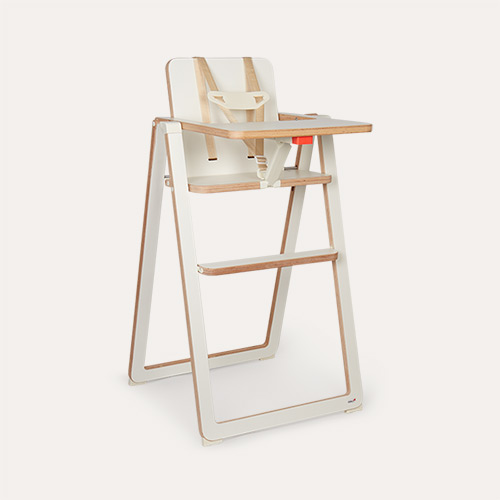 White SUPAflat Highchair