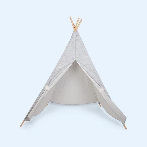 Grey Jabadabado Teepee Tent