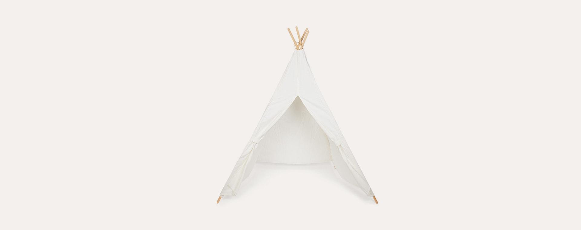 White Jabadabado Teepee Tent