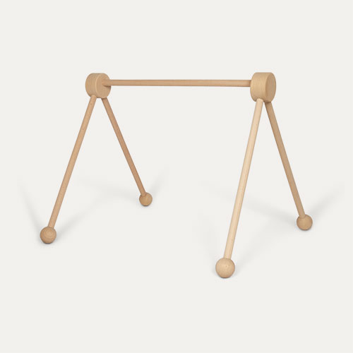 Neutral Jabadabado Wooden Baby Gym