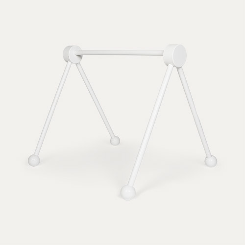 White Jabadabado Wooden Baby Gym