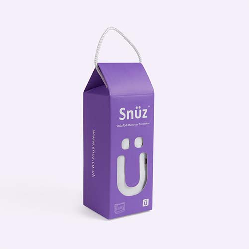 White Snuz Snuzpod Crib Mattress Protector
