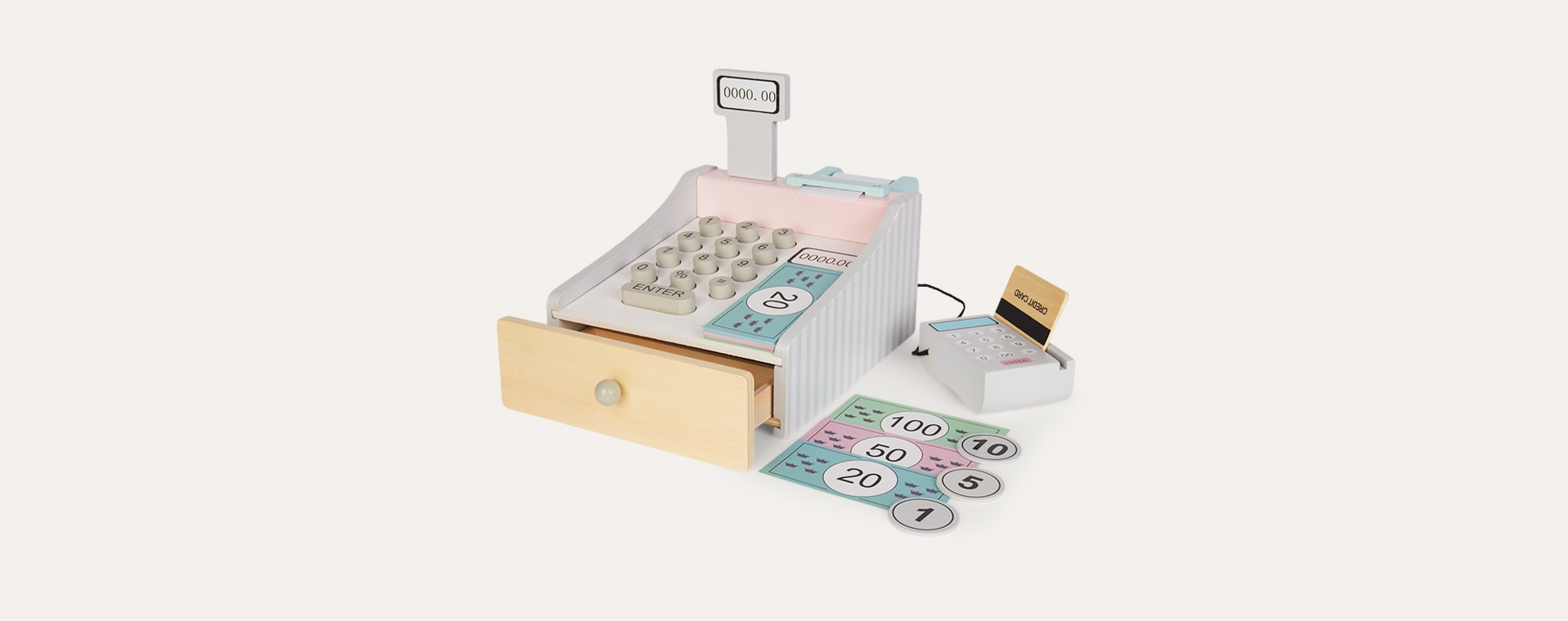 Multi Jabadabado Cash Register