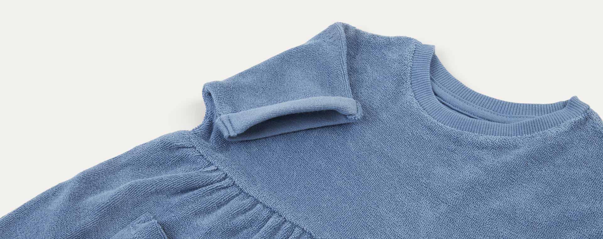 Sky KIDLY Label Towelling Dress