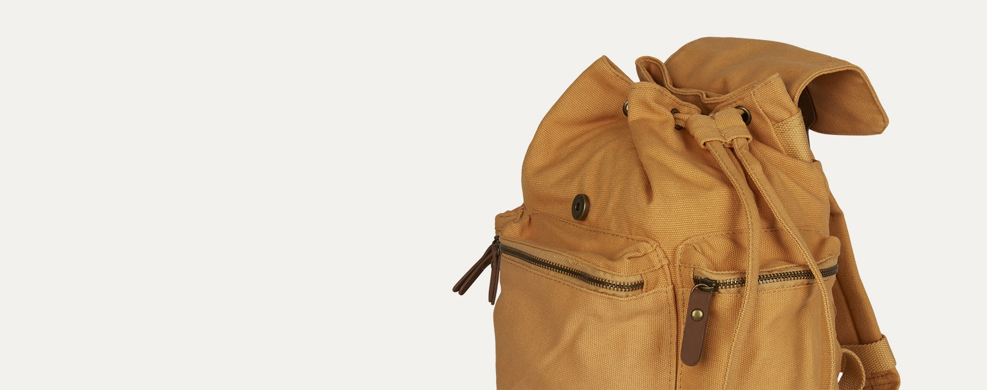 Honey Mustard Sebra Backpack