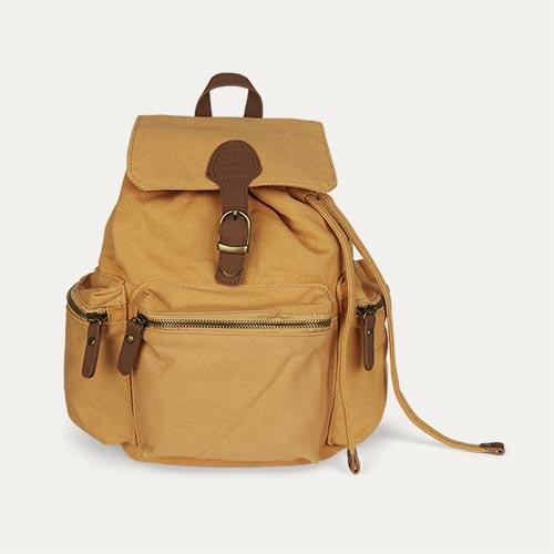 Honey Mustard Sebra Backpack