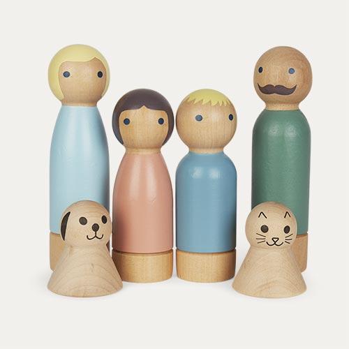 Multi Sebra Dolls for Doll's House