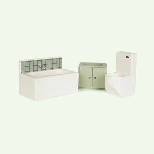 Bathroom Sebra Dolls House Furniture