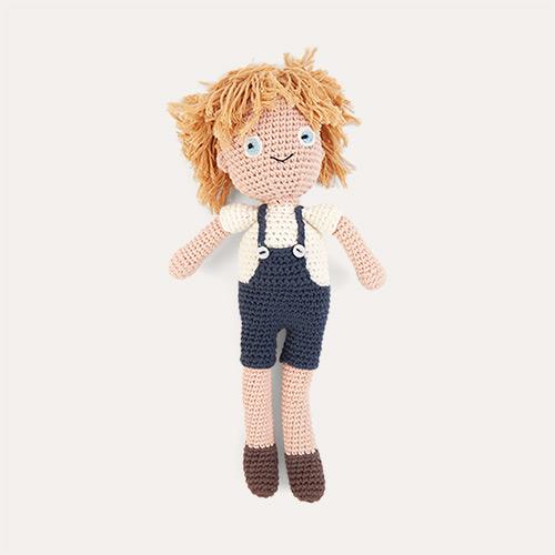 Birk Sebra Crochet Doll