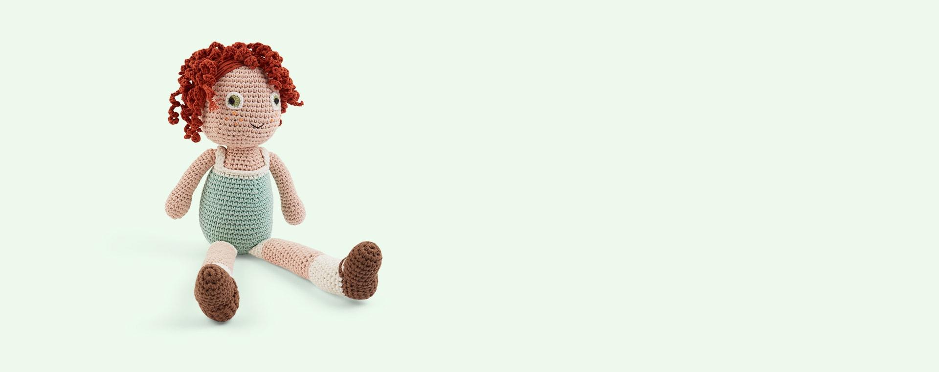 Hanna Sebra Crochet Doll