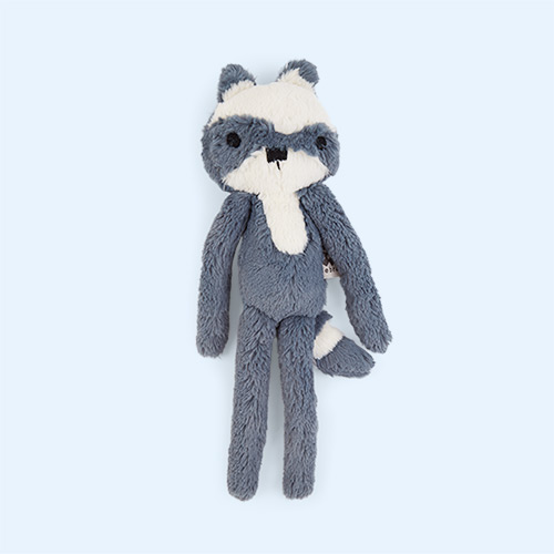 Rebel the Racoon Sebra Plush Animal