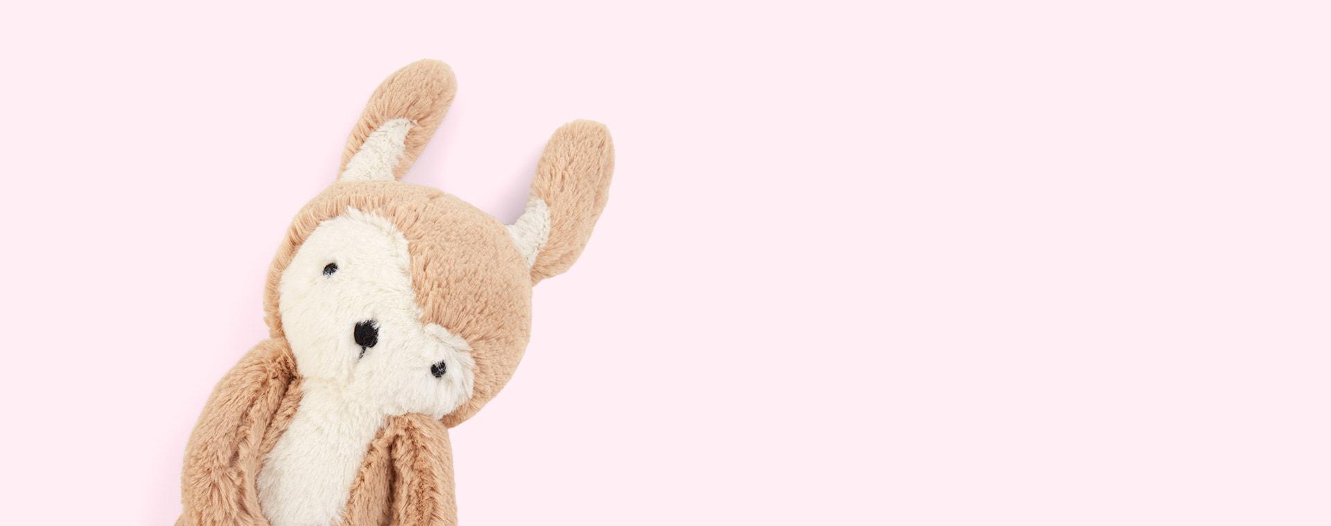 Siggy the Rabbit Sebra Plush Animal
