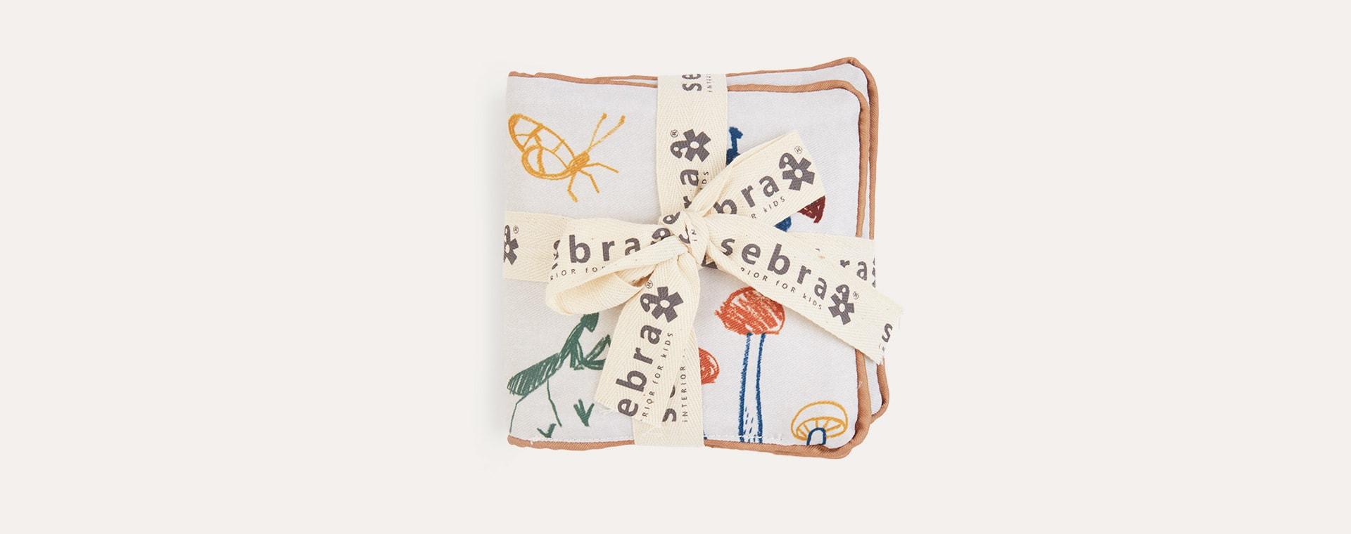 Garden Sebra Soft Activity Book