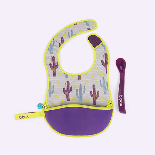 Cactus Capers b.box Travel Bib