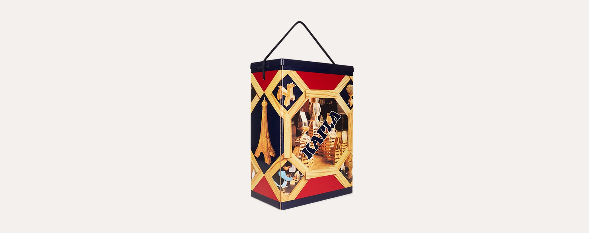 Neutral kapla Original Building Set - 200 Pieces Box