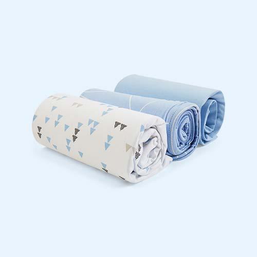 Breeze Geo Snuz Crib Bedding Set
