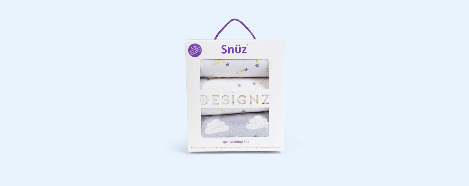 Cloud Nine Snuz Crib Bedding Set