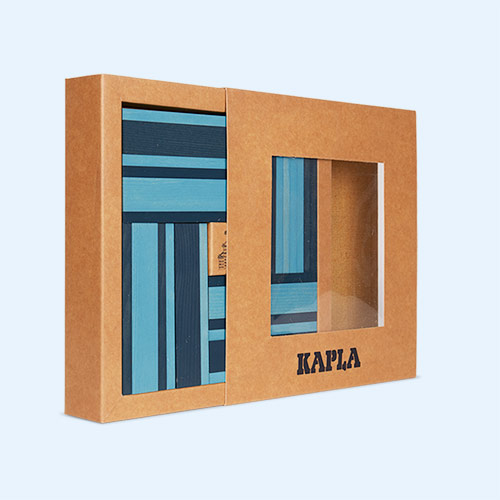 Blue kapla Books & Colours Building Set