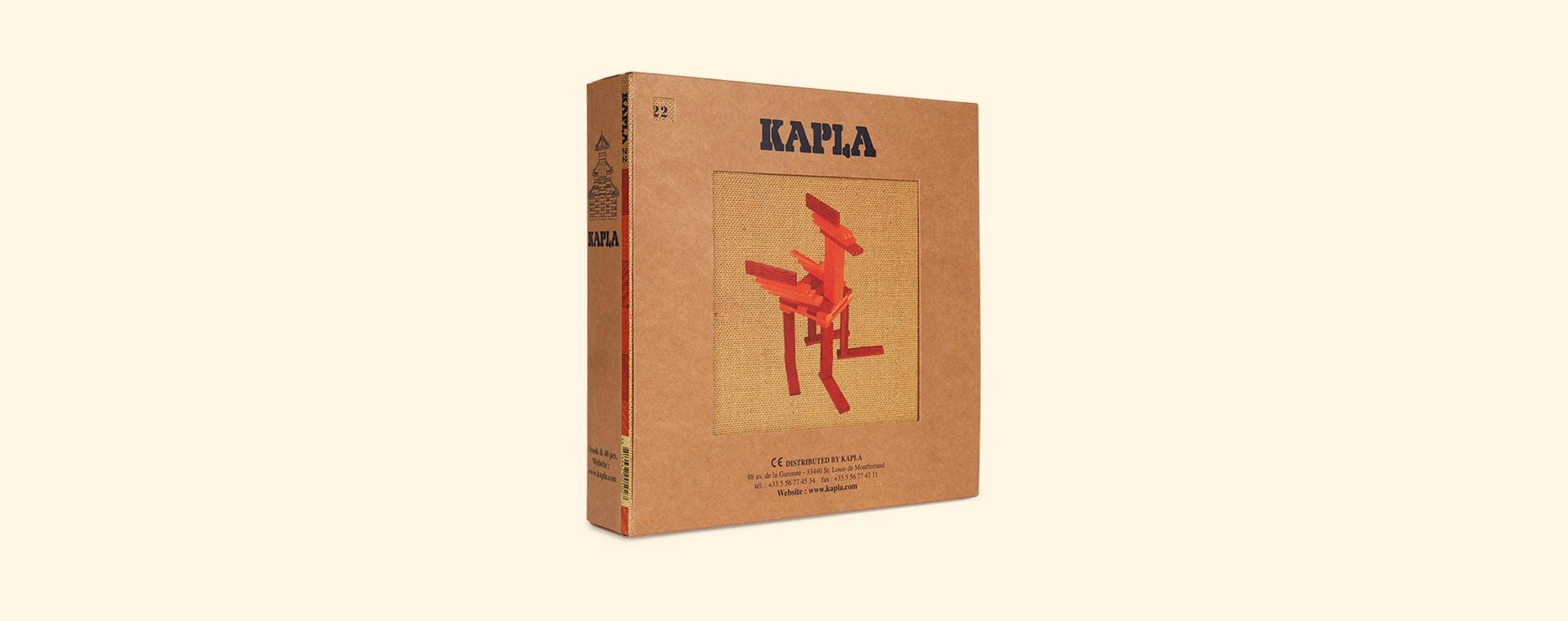 Red kapla Books & Colours Building Set
