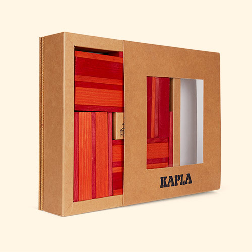 Red kapla Books & Colours Building Set