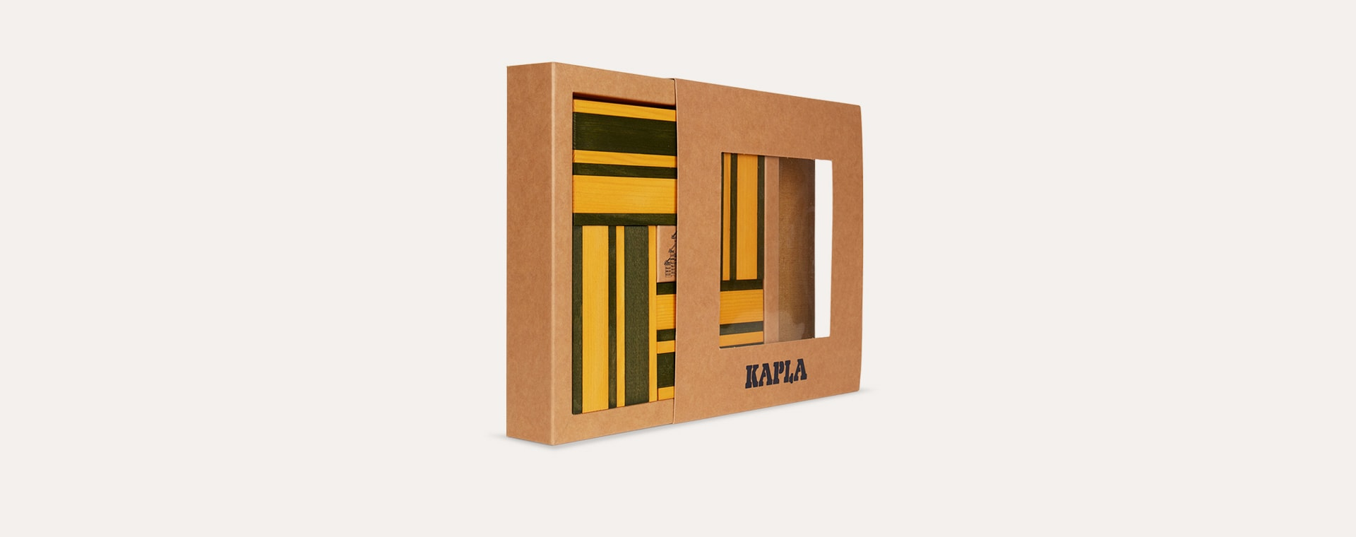 Yellow kapla Books & Colours Building Set