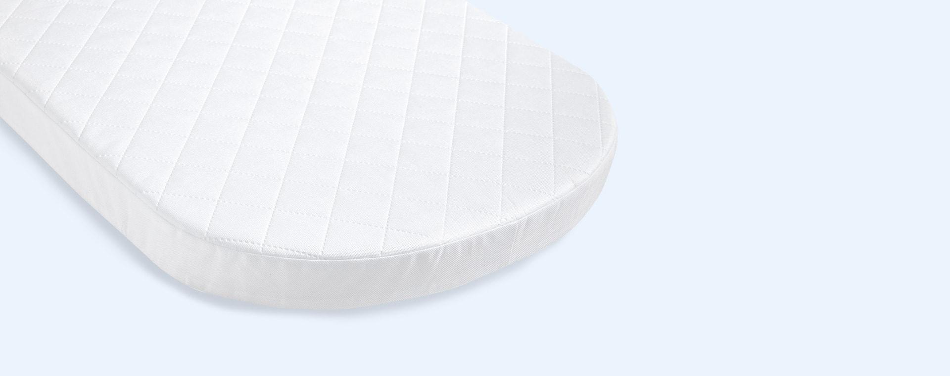White Shnuggle Air Cot Fibre Mattress