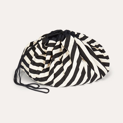 Black Stripe Play & Go Storage Bag
