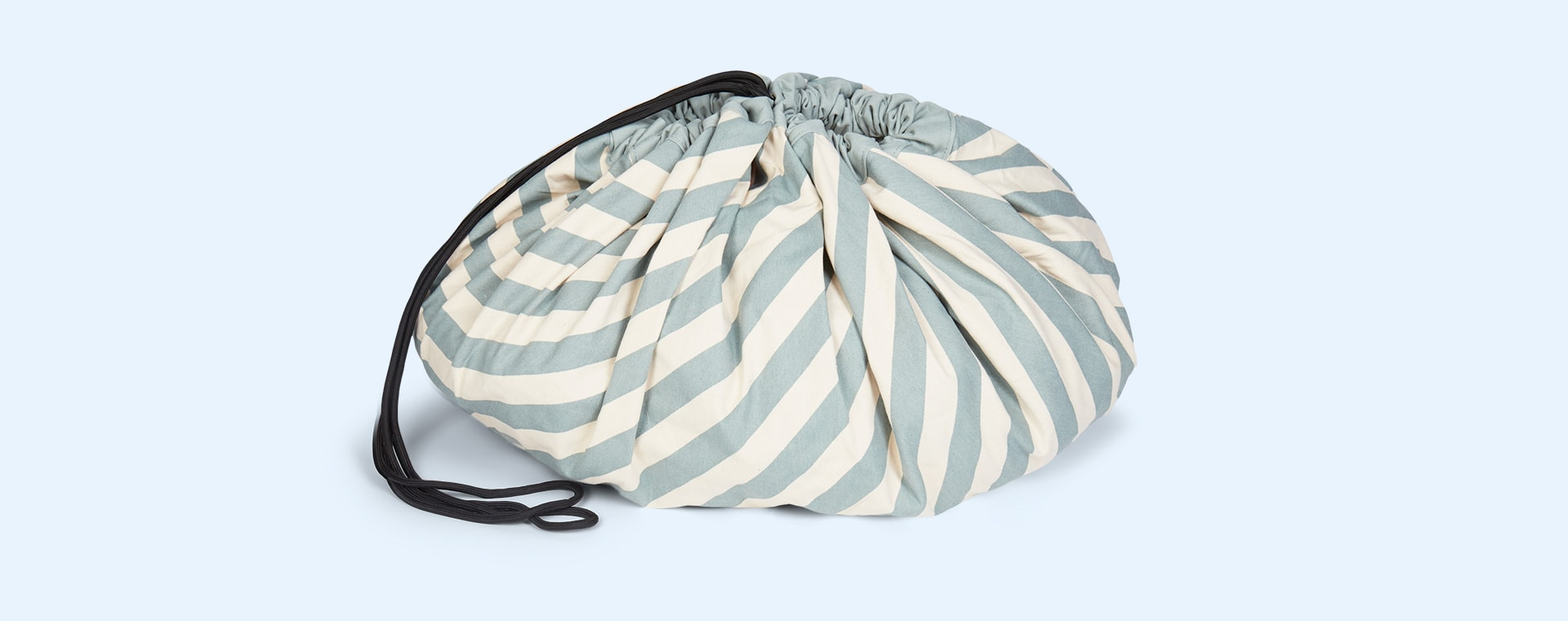 Green Stripe Play & Go Storage Bag