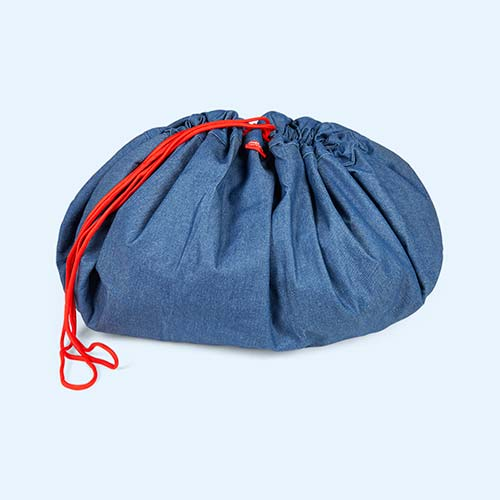 Denim Play&Go Storage Bag