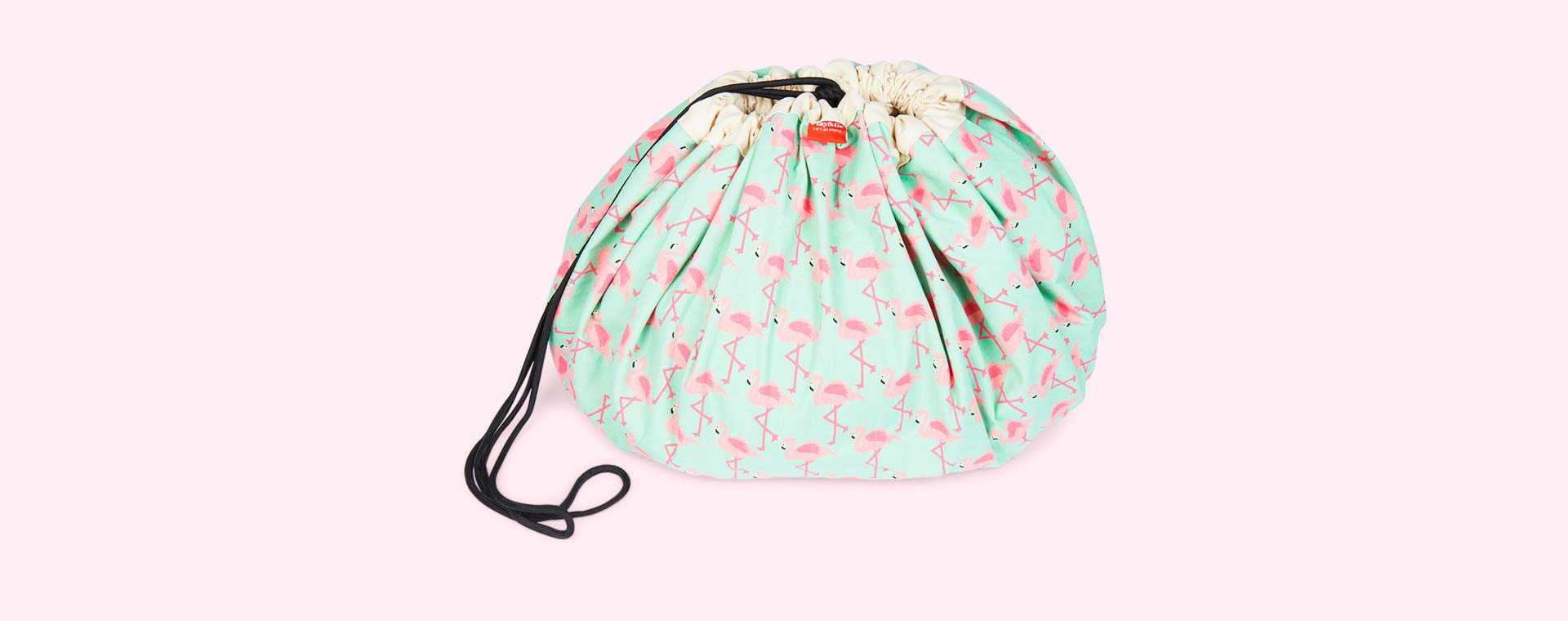 Flamingo Play & Go Storage Bag